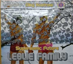 OLEG KOSTROW (SUPERSONIC FUTURE) ''Leslie Family'' (2004 Russian press, original sticker, SCD 035, mint/mint) (digipak) (CD) (D)