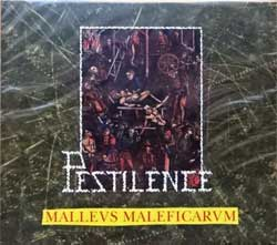 PESTILENCE ''Malleus Maleficarum'' (1988 RI 2017 Holland press, O-card, bonus-tracks, HHR 2017-13, new, sealed) (2xCD)