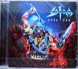 SODOM ''Code Red'' (1999 EU press, DRAKKAR 005, new, sealed) (CD)
