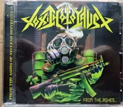 TOXIC HOLOCAUST ''From The Ashes Of Nuclear Destruction'' (2013 USA press, RR7222, new, sealed) (CD)