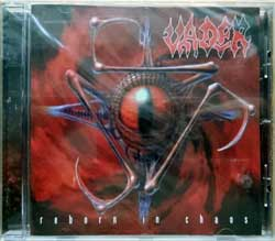 VADER ''Reborn In Chaos'' (1996 RI 2012 Holland press, 2 bonustracks, HHR 2012-04, new, sealed) (CD)