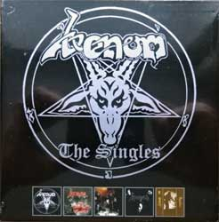 VENOM ''The Singles'' (1981/1982/1983/1984 RI 2018 UK press, 5xCD-box, DISS082CDBX, new, sealed) (CD)