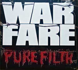 WARFARE ''Pure Filth'' (1984 RI 2018 UK press, 5 bonus-tracks, DISS086CDD, new, sealed) (digipak) (CD)