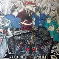 винил LP ARTILLERY ''Terror Squad'' (1987 RI 2019 UK press, gatefold, CLEAR VINYL, BOBV657LP, new, sealed)