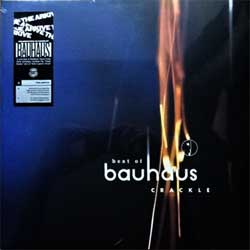 винил LP BAUHAUS ''Crackle | Best Of Bauhaus'' (2LP-gatefold) (1998 RI 2018 UK press, limited edition on DARK PINK VINYL, remastered, original stocker, BBQLP 2018X, new, sealed)
