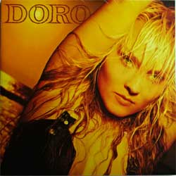 DORO (WARLOCK) ''Doro'' (1990 German press, 846 194-2, poster-booklette, ex+/ex+) (CD)