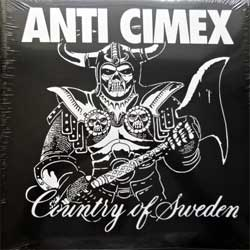 винил LP ANTI CIMEX ''Absolut Country Of Sweden'' (1990 RI 2018 UK press, gatefold, RED VINYL, BOBV547LP, new, sealed)
