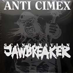 винил LP ANTI CIMEX ''Scandinavian Jawbreaker'' (1993 RI 2018 UK press, gatefold, WHITE VINYL, BOBV548LP, new, sealed)
