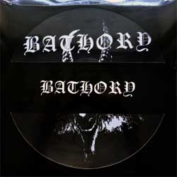 винил LP BATHORY ''Bathory'' (picture-disc) (1984 RI 2007 Sweden press, shaped cover, limited edition, BMPD666-1, new, sealed)