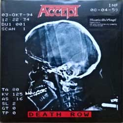 винил LP ACCEPT ''Death Row'' (2LP-gatefold) (1994 RI 2017 EU press, heavy 180 gr vinyl audiophile vinyl, MOVLP1984, new, sealed)