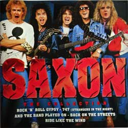 SAXON ''The Collection'' (1996 Holland press, DC 873472, near mint/near mint) (CD)