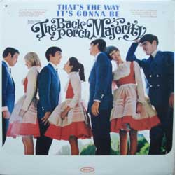 "винил LP BACK PORCH MAJORITY ""That's The Way It's Gonna Be"" (1966 USA press, ex-/vg+)"