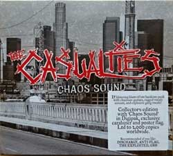 CASUALTIES ''Chaos Sound'' (box) (2016 France press, limited collector's deluxe edition 2000 copies, box includes: CD-digipak, exclusiver carabiner, colour poster-flag, original sticker, SOM 368B, new, sealed) (CD)