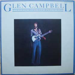 "винил LP GLEN CAMPBELL ""Somethin' 'Bout You Baby I Like"" (1980 Japanese press, insert, ex-/ex+)"
