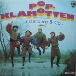 "винил LP INSTERBURG & CO. ""Pop-Klamotten"" (1969 German press, laminated, ex+/ex-)"