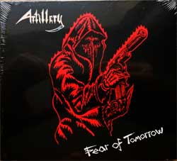ARTILLERY ''Fear Of Tomorrow'' (1985 RI 2019 UK press, DISS0140CDD, new, sealed) (digipak) (CD)