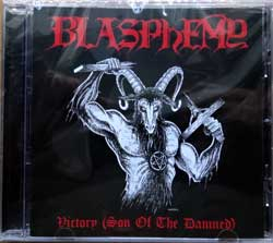 BLASPHEMY ''Victory (Son Of The Damned)'' (2018 USA press, ANTI-GOTH 395, new, sealed) (CD)