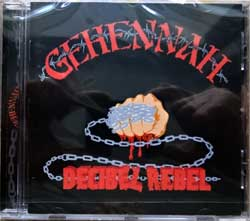GEHENNAH ''Decibel Rebel'' (1997 RI 2015 France press, OPCD065, new, sealed) (CD)