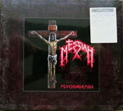 MESSIAH ''Psychomorphia'' (1990 RI 2010 German press, remastered, bonustracks, original sticker, MAS CD0696, new, sealed) (digipak) (2xCD)