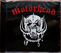 MOTORHEAD ''Motorhead'' (1977 RI 2001 UK press, remastered, bonustracks, CDWIKM 2, new, sealed) (CD)