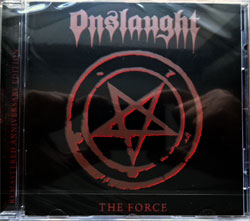 ONSLAUGHT ''The Force'' (1986 RI 2012 German press, AFM 371-2, new, sealed) (CD)
