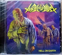 TOXIC HOLOCAUST ''Hell On Earth'' (2005 RI 2008 USA press, RR6120, new, sealed) (CD)