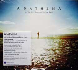 ANATHEMA ''We're Here Because We're Here'' (2010 RI 2013 UK press, original sticker, CD+DVD, KSCOPE251, new, sealed) (digipak) (2xCD)