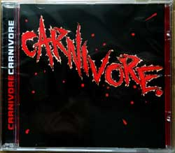 CARNIVORE ''Carnivore'' (1985 RI 2001 a'la Brazil press, 3 bonustracks, 6930-2, new, sealed) (CD)
