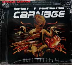 CEPHALIC CARNAGE ''Lucid Interval'' (2002 RI 2011 USA press, deluxe re-issue, obi, RR7102, new, sealed) (CD)