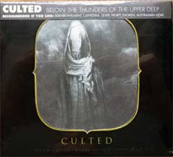 CULTED ''Below The Thunders Of The Upper Deep'' (2009 USA press, obi, shaped frontcover, RX7059, new, sealed) (digipak) (CD)