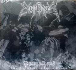 EMPEROR ''Prometheus - The Discipline Of Fire & Demise'' (2001 RI 2017 EU press, gatefold digisleeve, CANDLE729650, new, sealed) (CD)