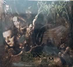EMPEROR ''IX Equilibrium'' (1999 RI 2017 EU press, bonustrack, gatefold digisleeve, CANDLE729646, new, sealed) (CD)