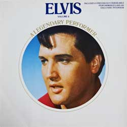 винил LP ELVIS PRESLEY ''A Legendary Performer Volume 4'' (1983 German press, PL 84848, near mint/near mint)