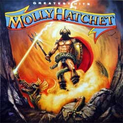MOLLY HATCHET ''Greatest Hits'' (1990 Austria press, 4675932, matrix CDEPC-467593 34 A1 DADC Austria, ex/near mint) (CD)