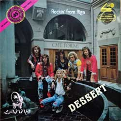 винил LP DESSERT ''Rockin' From Riga'' (1990 USSR press, 050990/060990, near mint/ex)