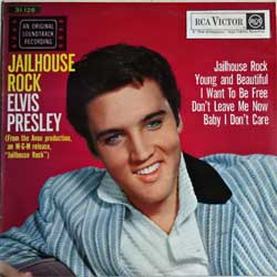 винил LP ELVIS PRESLEY ''Jailhouse Rock OST'' (South Africa (ЮАР) RARE press, 31-126, ex/ex)