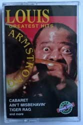 аудиокассета LOUIS ARMSTRONG ''Greatest Hits'' (1994 Canada press, SLD13254, mint/mint, still sealed) (MC1520)