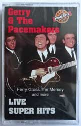 аудиокассета GERRY & THE PACEMAKERS ''Live Super Hits'' (1994 Canada press, SLD13184, mint/mint, still sealed) (MC1521)