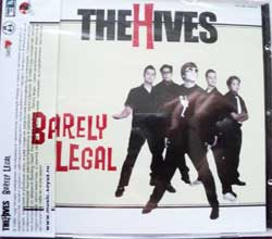 HIVES ''Barely Legal'' (CD-Soyuz)