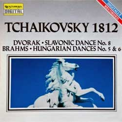 Classical: TCHAIKOVSKY ''1812 Overture'' (1990 USA press, CDQ 2013, matrix 118463-D1 Disctronics USA **CDQ2013**, mint/mint) (CD) (D)