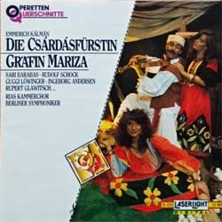 Classical: EMMERICH KALMAN ''Die Csardasfurstin - Grafin Mariza'' (1992 German press, 16 035, matrix 16035 [A]1, ex/mint) (CD)