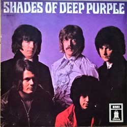 винил LP DEEP PURPLE ''Shades Of Deep Purple'' (1968 RI German press, green Odeon labels, 1C064-04175, ex-/vg+)