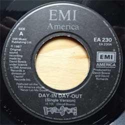 винил LP DAVID BOWIE ''Day-In Day-Out'' (7''single) (1987 UK press, EA 230, vg+/sfc)