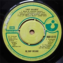 винил LP BE BOP DELUXE ''Hot Valves'' (4-track 7''single) (1976 UK press, HAR 5117, vg+/sfc)