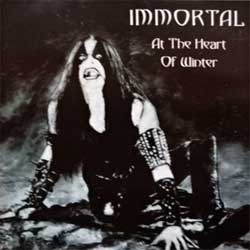 IMMORTAL ''At The Heart Of Winter'' (1999 RI 2001 Russian press, matrix M-0002, near mint/mint) (CD)