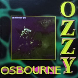 OZZY OSBOURNE ''The Ultimate Sin'' (1986 RI Russian press, A 0051, vg+/near mint) (CD) (D)