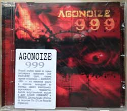 AGONOIZE ''999'' (2007 Russian press, sticker, GRR 034, mint/mint) (CD)