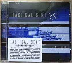TACTICAL SEKT ''Geneticide'' (2007 Russian press, GRR 039, sticker, mint/mint) (CD)