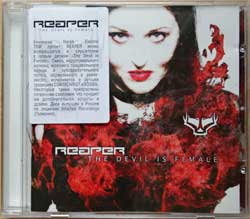REAPER ''The Devil Is Female'' (2008 Russian press, sticker, GRR 058, mint/mint) (CD)