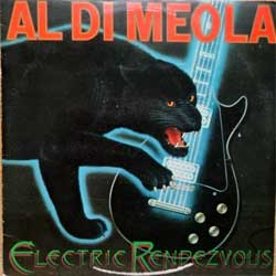 винил LP AL DI MEOLA ''Electric Rendezvous'' (1982 Holland press, with 3xA4-PROMO-sheets, CBS 85437, vg+/vg+)